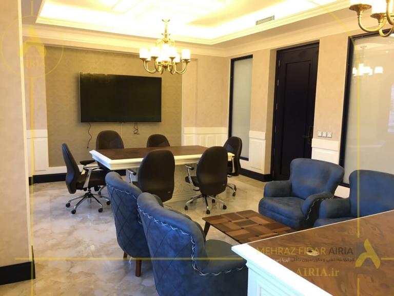 طراحی و اجرای دکوراسیون داخلی ورودی اتاق