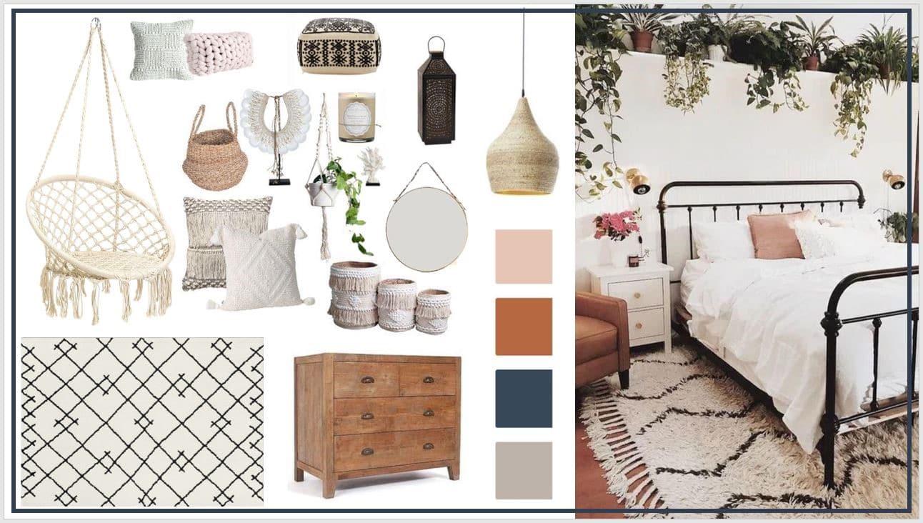آیا سبک بوهو یا بوهمیان (Bohemian style)، سبک مناسب طراحی اتاق خواب دخترانه است؟