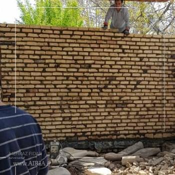 بازسازی دیوار مجاوز گذر