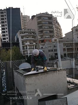 بازسازی پشت بام یکی از بخشهای مختلف ساختمان برای بازسازی است