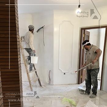 تعمیرات جزئی در بازسازی