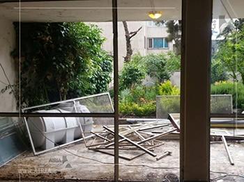 تعویض پنجره های ساختمان ویلا نیز جزء بخشهای مختلف ویلا برای بازسازی است