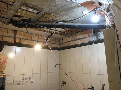 سیستم روشنایی موقت در کارگاه بازسازی ضروری است