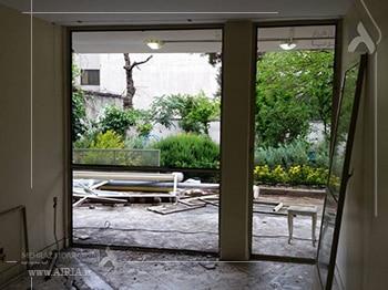 پنجره ها یکی از بخشهای مختلف خانه برای بازسازی هستند