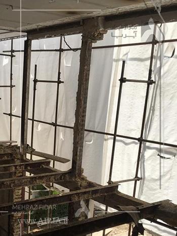 بازسازی تصمیم اشتباهی است اگر سازه یا بنای ساختمان مقاومت کافی نداشته باشد