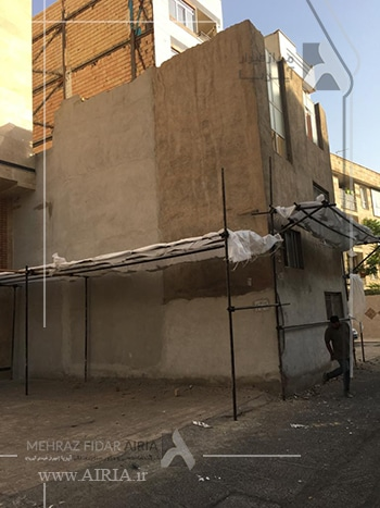 بخاطر عقب نشینی زیاد ساختمان، آیا امکان بازسازی وجود دارد؟