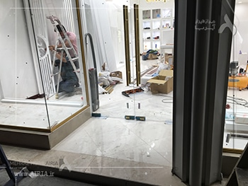 بخشهای مختلف فروشگاه برای بازسازی باید کنترل شوند