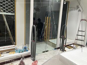 تجهیزات امنتی جزء بخشهای مختلف مغازه برای بازسازی هستند