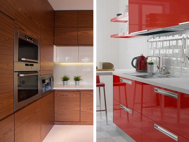 رنگ براق برای کابینت بهتر است یا رنگ مات؟
